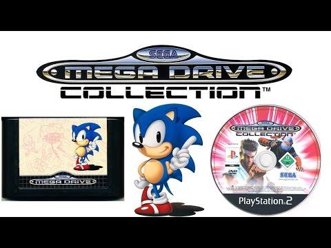 Sega Genesis Collection (PS2/PSP) Music - Main Menu