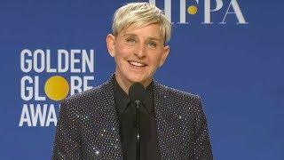 Ellen DeGeneres Raih Lifetime Achivement Award untuk TV Show, di Golden Globes Awards 2020