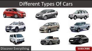கார்களின் வகைகள் அதன் உருவத்தை பொருத்து (Different Types Of Cars)
