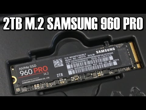 Samsung 2TB 960 Pro M 2 SSD Review