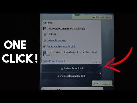Telegram Public Link Generator | Telegram Bot | Telegram
