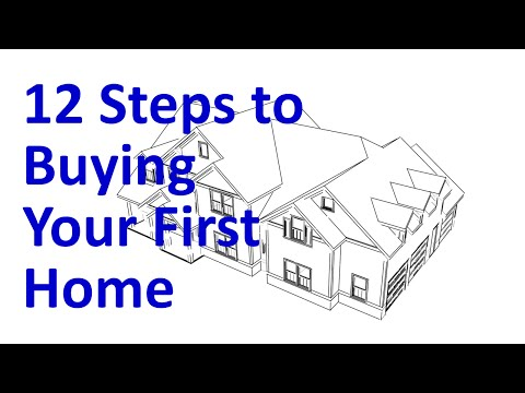 Home Buying in 12 Steps