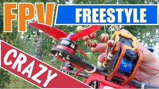 Crazy FPV freestyle. DIY Drone Armattan Chameleon (Matek 405STR/T-Motor F60PRO/ESC T-Motor F55 PRO)