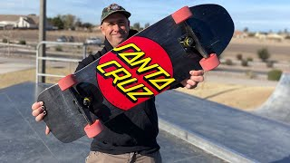 CLASSIC DOT 80s CRUZER PRODUCT CHALLENGE WITH ANDREW CANNON! | Santa Cruz Skateboards