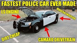 I Bought The Fastest Police Car Ever Made & The Cheapest Way To Buy A Modern LS CAR! 4-Door Camaro!