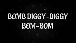 Bom Diggy Diggy (Full Lyrics)   Zack Knight   Jasmin Walia   Sonu Ke Titu Ki Sweety (LYRIC VIDEO)