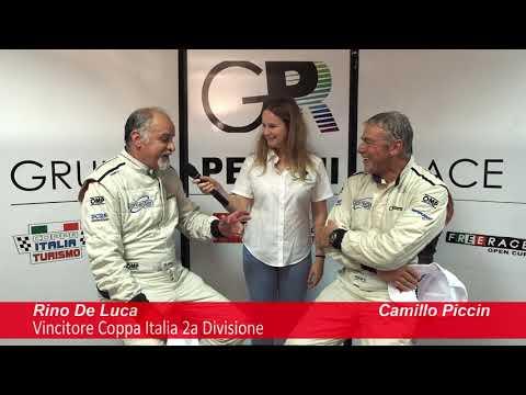 COPPA ITALIA TURISMO - la parola al CAMPIONE 2° Div. 2019: RINO DE LUCA