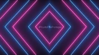 neon lines background loop | neon lights animation background video template | neon saber background