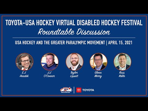 Roundtable Discussion   USA Hockey & the Greater Paralympic Movement