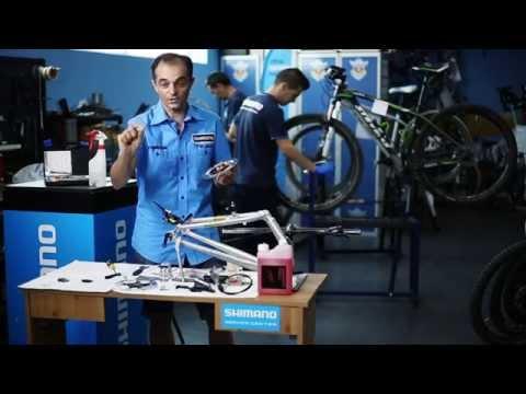 Consejos: Cuidado de los frenos de disco. Aceite mineral Shimano y tecnología Ice-Tech