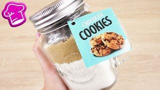 CHOCOLATE COOKIES Backmischung im TEST | Wie schmeckt die Backmischung aus dem Glas? | Geschenkidee