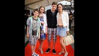 Виталий Кличко с женой и детьми