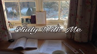 Study With Me || February 25th