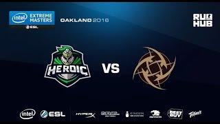 IEM Oakland - Heroic vs NiP - de_nuke - [CrystalMay]