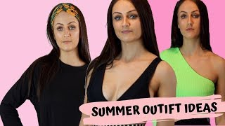 SUMMER HOLIDAY OUTFIT IDEAS | DAYTIME, EVENING AND BEACHWEAR