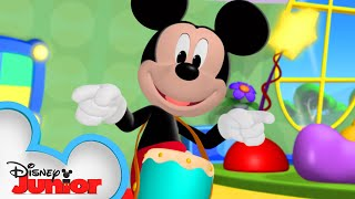 Dance Party At The Clubhouse 🕺| Mickey Mornings | Mickey Mouse Clubhouse | Disney Junior