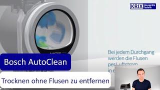 Bosch AutoClean Trockner Wärmepumpentrockner