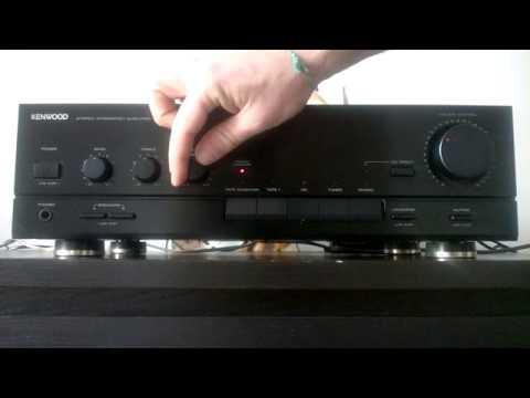 KENWOOD KA1010 Amplificatore Integrato HIFI Stereo