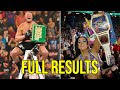 WWE Money In The Bank 2019 Full Highlights And Results HD