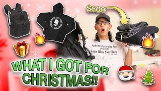 WHAT I GOT FOR CHRISTMAS!! (streetwear haul)