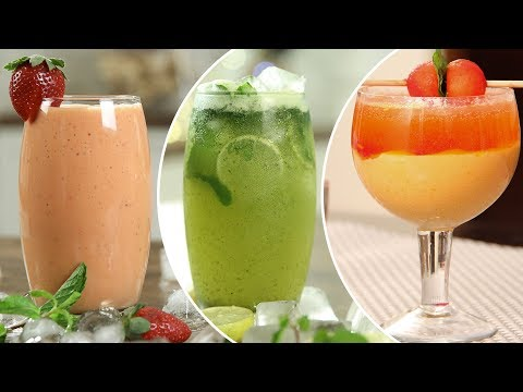 Best Summer Coolers – Easy To Make Homemade Drinks – Chilled Refreshing Summer Recipes