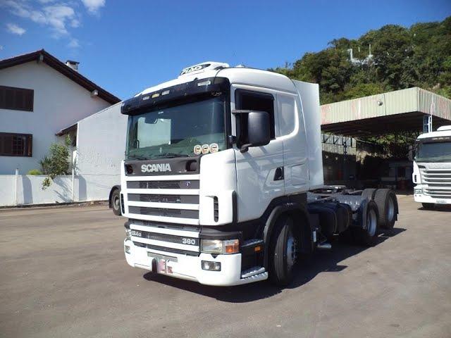 Vídeo do caminhão R360 6x2