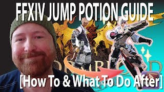 FFXIV How to use a Jump Potion and what to do after [Guide]