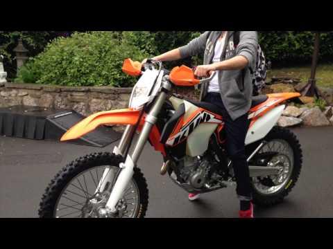 2014 ktm 250 exc f first ride