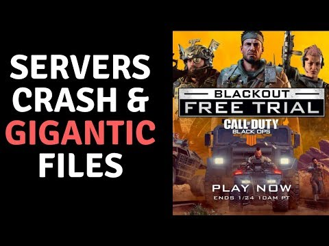 Call Of Duty Black Ops 4 Free Trial A Total Mess?