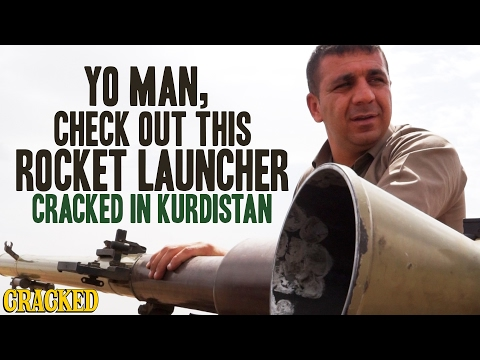 Yo Man, Check Out This Rocket Launcher: Cracked In Kurdistan