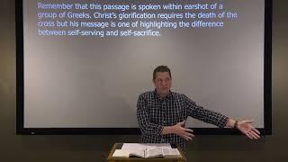 Studies in John - #78: Glorify Your Name