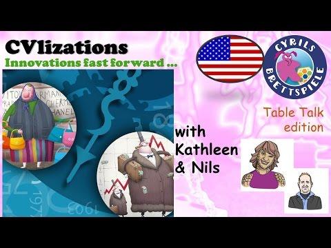 Cyrils Brettspiele - Table Talk Edition (eng.) - CVlizations - TK15