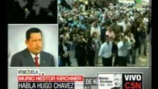 C5N MURIÓ NÉSTOR KIRCHNER HABLA HUGO CHÁVEZ