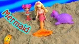 Barbie Mini Doll Trapped Mermaid Part 5 The Pearl Princess Video Series Water Phone  CookieSwirlc
