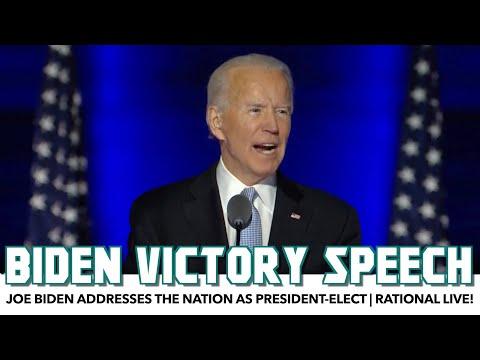 Joe Biden Victory Speech | Rational Live!
