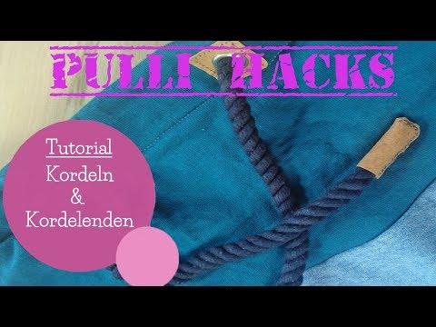 Kordeln & Kordelenden verarbeiten | Pulli Hacks | Tutorial | DIY Nähanleitung | mommymade