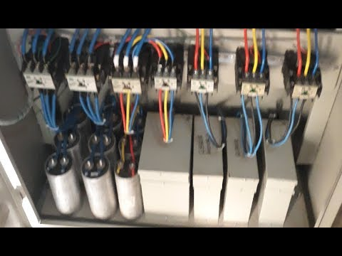 power factor capacitor bank apfc panel board hindi urdu play