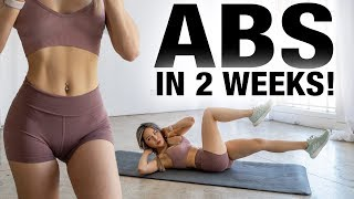 Get Abs in 2 WEEKS | Abs Workout Challenge