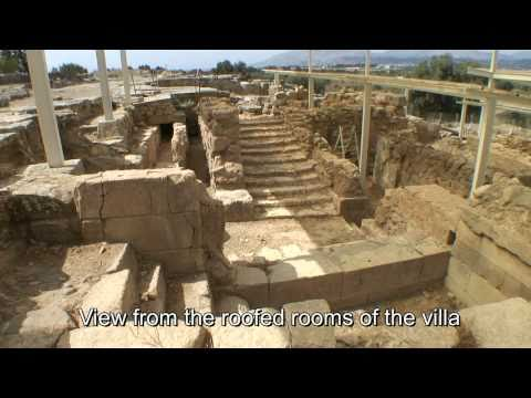 Hagia Triada, Crete. The Minoan villa of