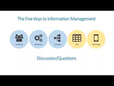 Information Management Basics