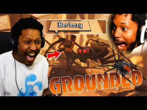 CoryxKenshin: COLLAB OF THE YEAR! BERLEEZY AND ME VS SPIDERS | Grounded