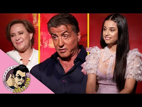 Sylvester Stallone, Yvette Monreal & more Interview for Rambo: Last Blood