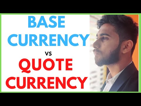 Forex Base Currency and Quote Currency Explained