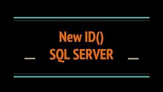 SQL SERVER Function : NEWID() to generate Unique Identifier Value