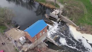 Перша в області міні-ГЕС запрацювала у Васильківці