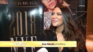 Ana Nikolic - O povratku na scenu i novogodisnjem nastupu - Exkluziv - (TV Prva 13.12.2017.)