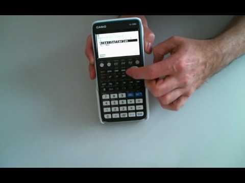 Casio FX-CG50 - erster Eindruck, Vergleich zu Casio FX-CG20
