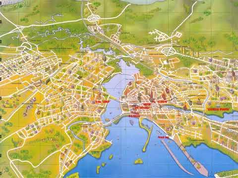 карта казани с достопримечательностями
