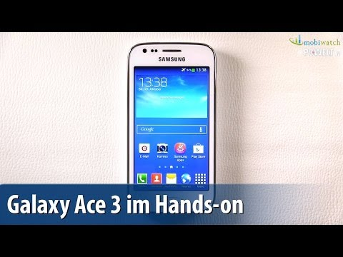 LTE günstig: Samsung Galaxy Ace 3 im Hands-on - Lutz Herkners Video-Blog | deutsch / german