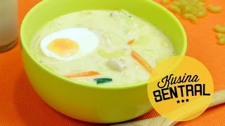 SOPAS (Filipino chicken soup) | NEW FILIPINO COOKING CHANNEL | Kusina Sentral